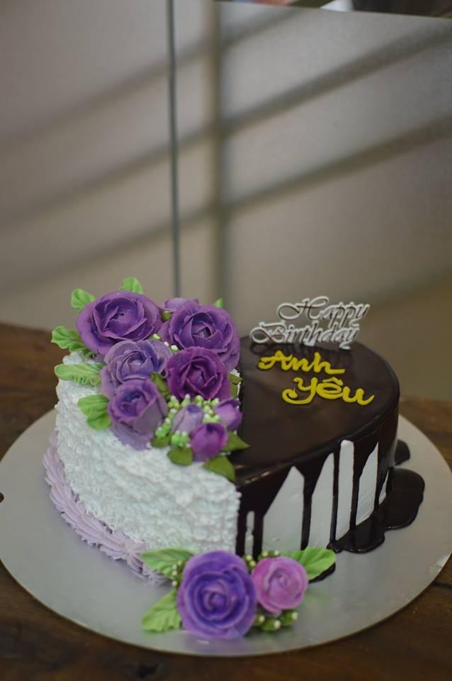 Bánh kem Chocolate cho ngày 8/3 thêm phần ngọt ngào