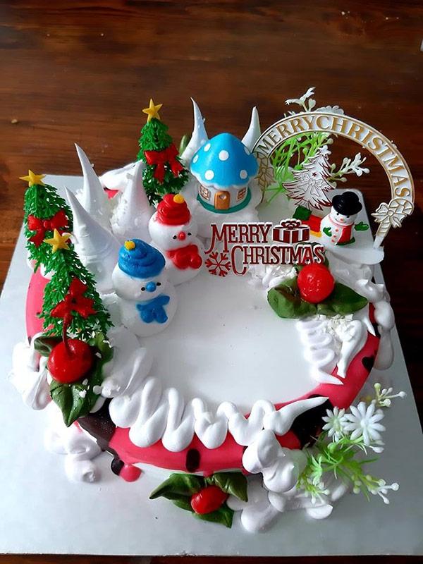 Giáng sinh đến rồi - bánh kem ngay thôi!!!