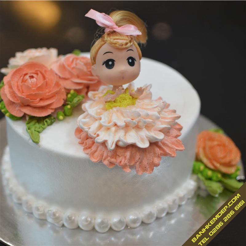 Những mẫu bánh kem dễ thương cho các bé gái