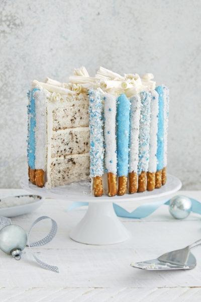 Những mẫu trang trí bánh kem giáng sinh đẹp