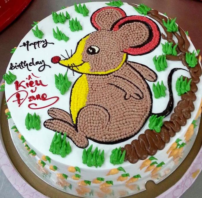 Tuổi tý - Bánh sinh nhật dành cho các bạn tuổi tý cực đáng yêu và dễ thương