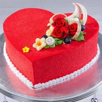 Bánh sinh nhật trái tim