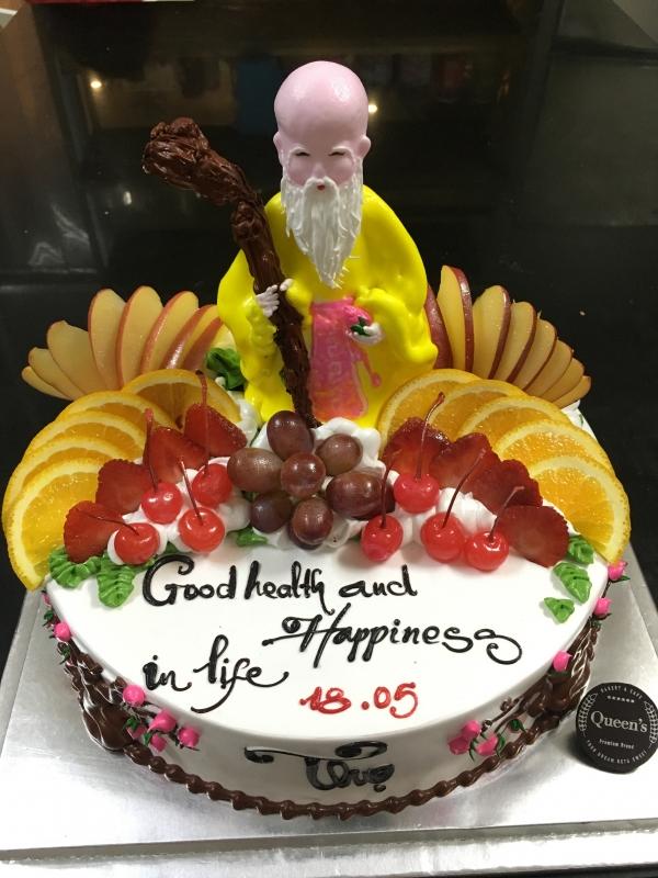 Mừng tuổi Ông Bà Cha Mẹ-Ông Thọ với trái cây tươi