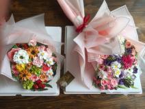 Bánh kem bó hoa mã 655