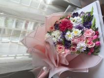Bánh kem bó hoa mã 656