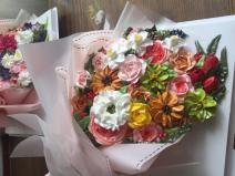 Bánh kem bó hoa mã 657