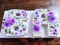 Bánh kem sinh nhật số- chữ  size lớn